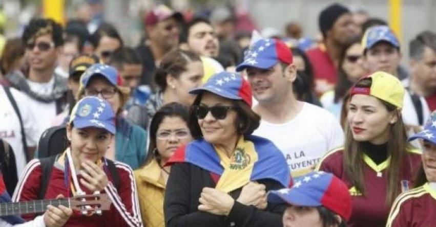 Ordenan ingreso de Venezolanos al Perú sin pasaporte
