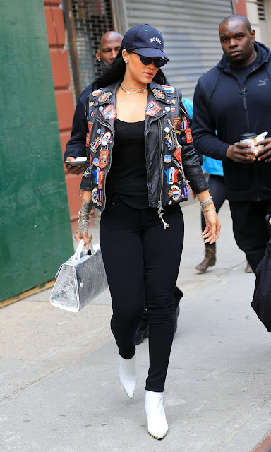 Street Style: Rihanna Out & About in New York City