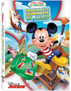Enter the Mickey Mouse Clubhouse DVD Giveaway. Ends 6/8.