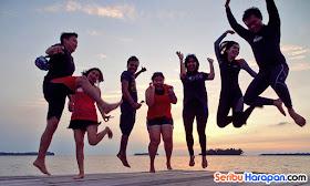 pulau gosong kepulauan seribu dan wisata pulau harapan