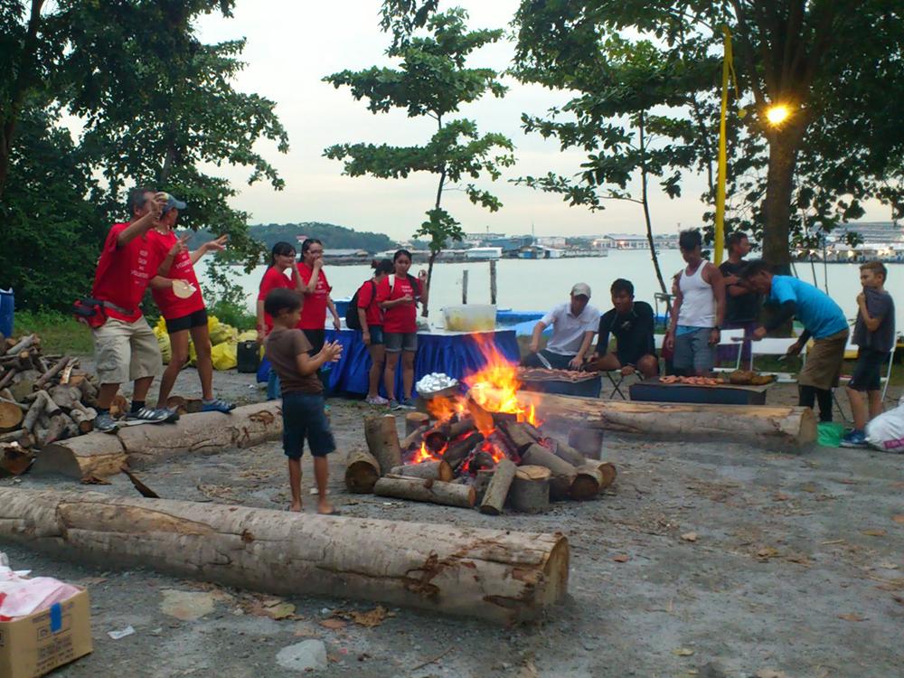 Pulau Ubin Campfire