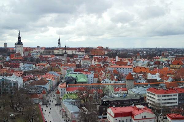 estonie tallinn hôtel viru musée KGB vue vieille ville