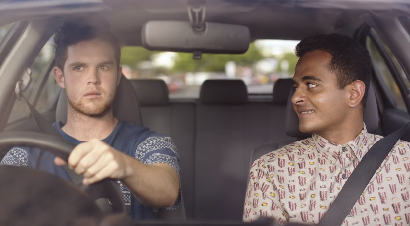 "New Zealand Transport Authority's ""Hello"" Ad Creates Awkward Moments In New No Text and Drive PSA"