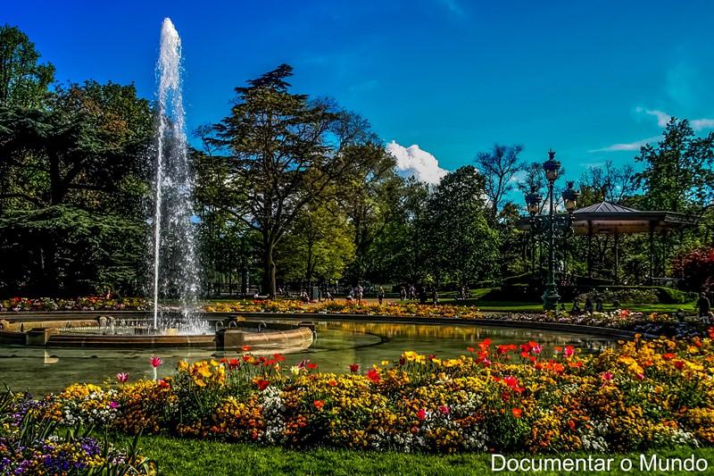 Jardim Grand Rond; Toulouse