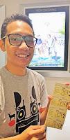 Blogger Eksis menonton film Rompis di Cinema XXI Grand Paragon Mall Jakarta Barat