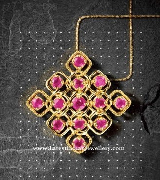 Designs Inspired By Kolam Muggu From Tanishq Latest