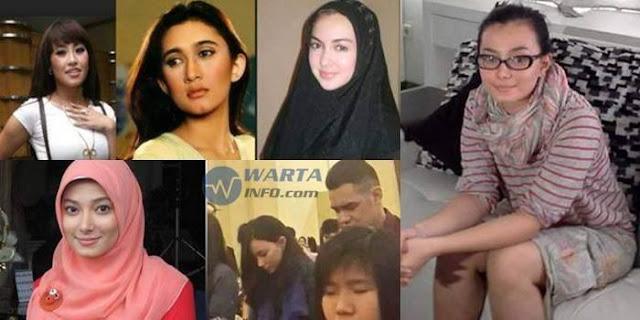 Empat Artis Muslim Indonesia Menjadi Pengikut Kristus