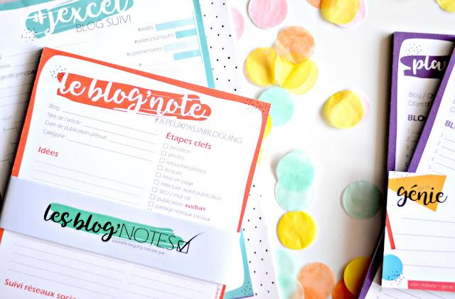 Les blog'notes... la 1ère collection