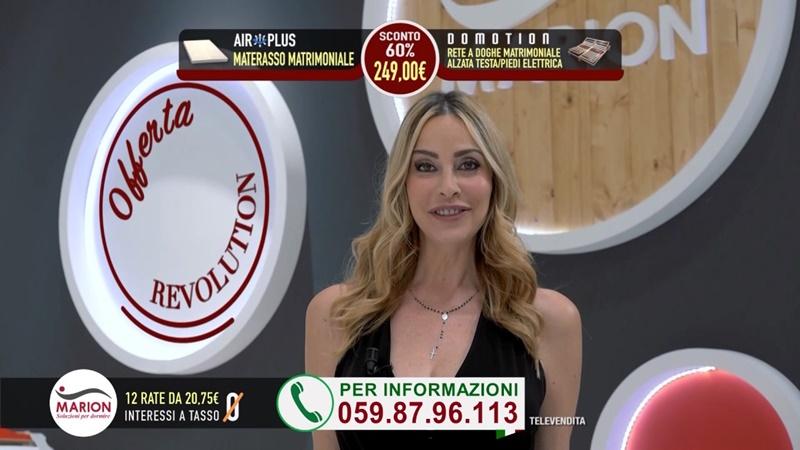 Vendita Materassi In Tv.Le Modelle Della Pubblicita Reti E Materassi Marion Con Alessandro