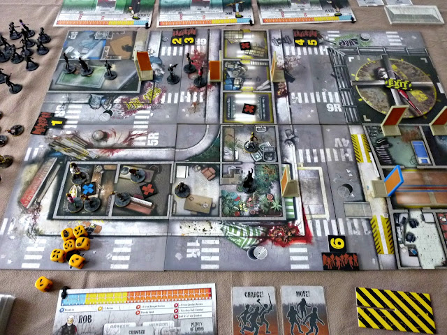Zombicide rue morgue gas run for Porte zombicide