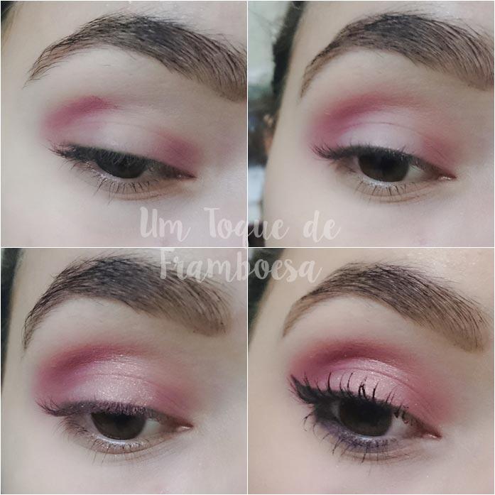 Maquiagem rose gold para noite passo-a-passo