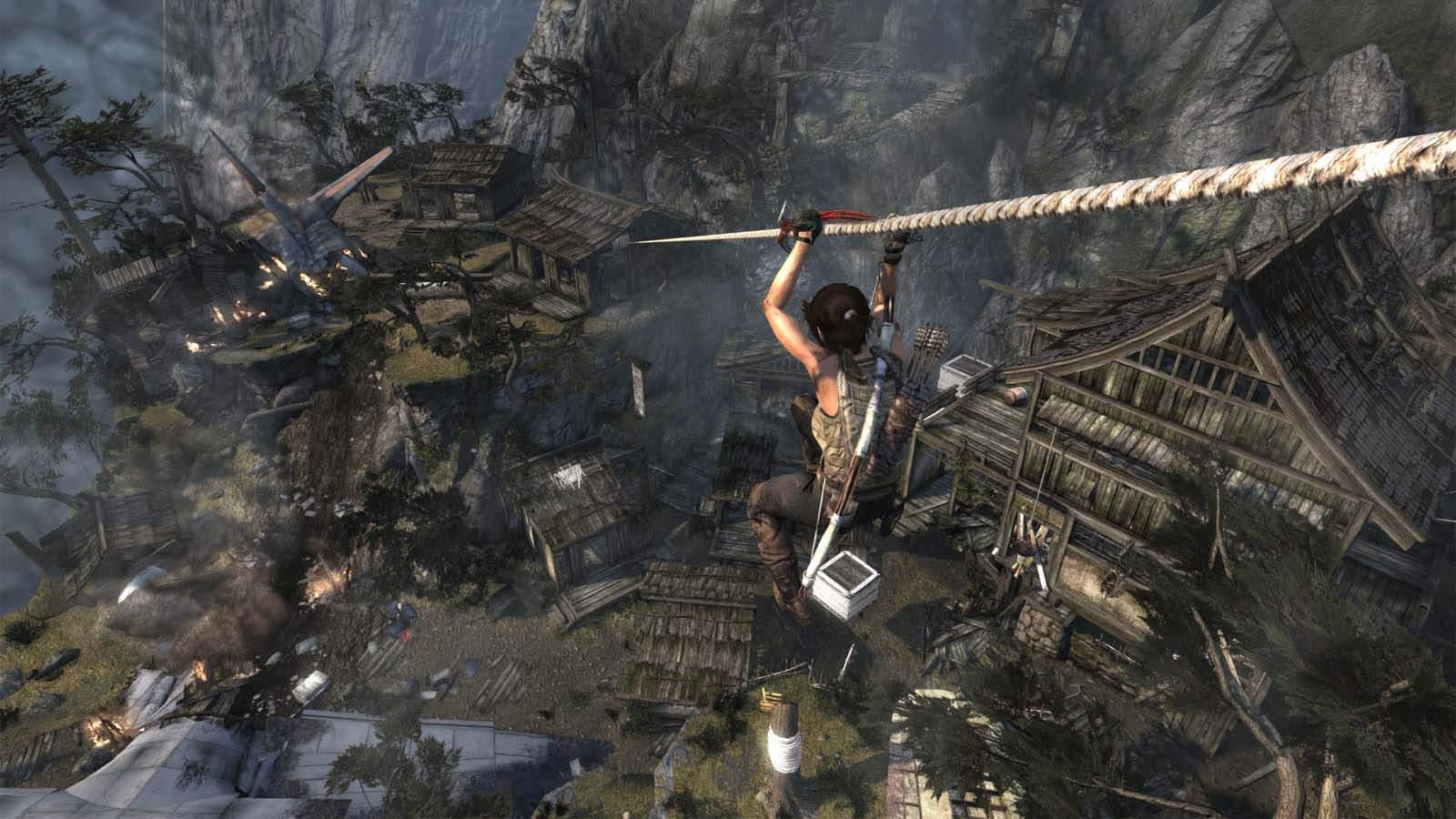 تحميل لعبة Tomb Raider 2013 مضغوطة برابط واحد مباشر كاملة مجانا