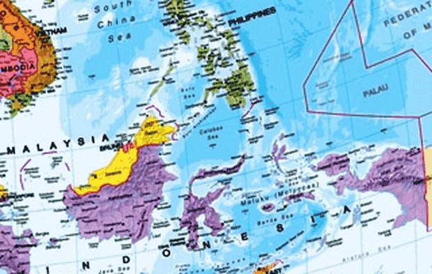letak geografis, astronomis, dan geologis brunei darussalam