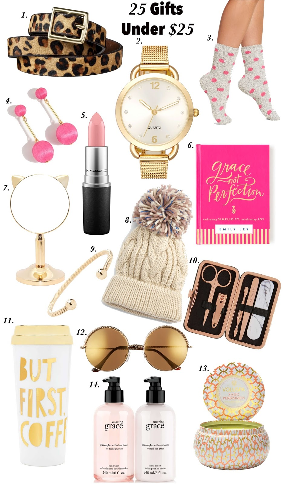25 Gifts Under $25 - Something Delightful Blog