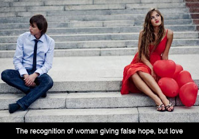 Woman giving false hope