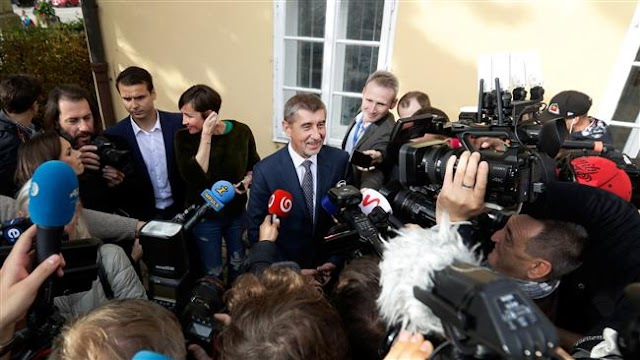 Czech billionaire's party ANO leads parliamentary elections