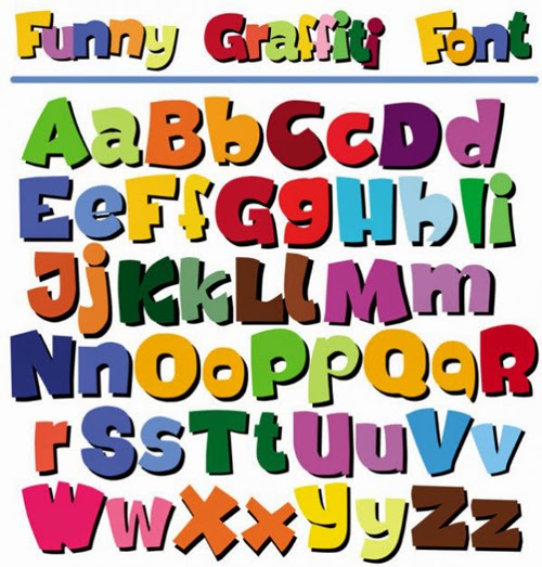 Cartoon Vector Alphabet