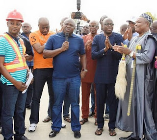 Ambode Commissions Major Link Bridge In Badagry: See Photos