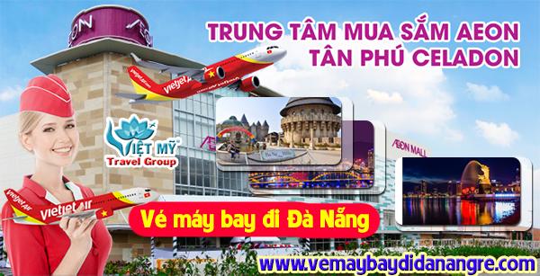 Vé máy bay đi Đà Nẵng gần Aeon Mall Tân Phú