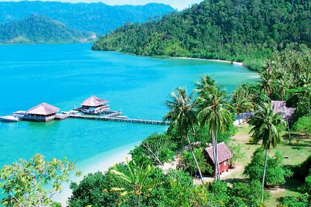 Pesona Pulau Mandeh