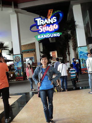 pintu masuk trans studip  bandung