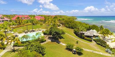 Pierre et vacances Guadeloupe, vue aérienne, proche de la plage de Sainte Anne