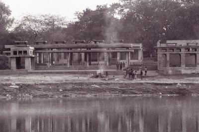 Agra, Tajganj, © L. Gigout, 1991