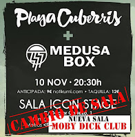Concierto de Playa Cuberris y Medusa Box en Moby Dick Club