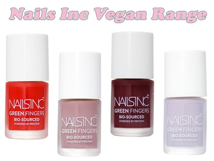 Nails Inc Vegan Range