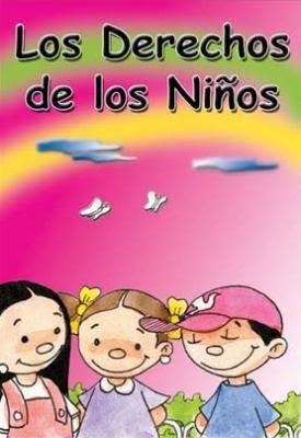 Los Derechos de los niños dibujos color