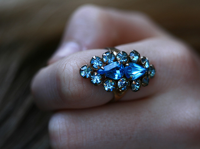 A Cubic Zirconia Ring From Ti Sento