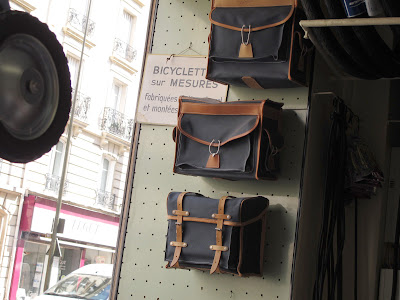 Gilles Berthoud bags in Alex Singer shop