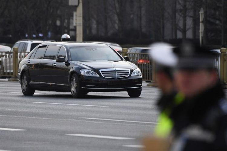 Produsen Mobil Jerman Bingung Saat Kim Jong Un Ke Rusia Dengan Limosin