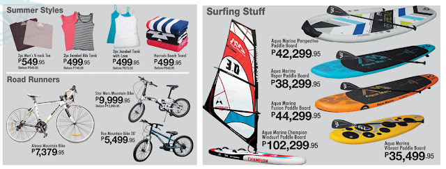 S&R Prices Bike, Paddle Board, Summer Items