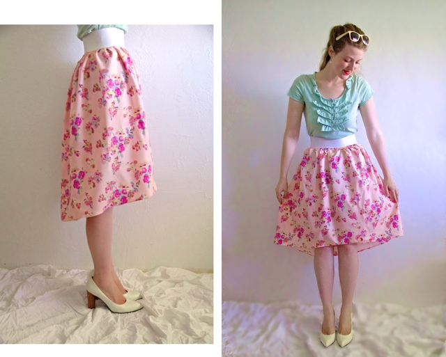 Subtle High Low Skirt Tutorial From Skirt Or From Scratch