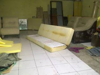 ganti kain kulit sofa di jatimurni pondok melati bekasi
