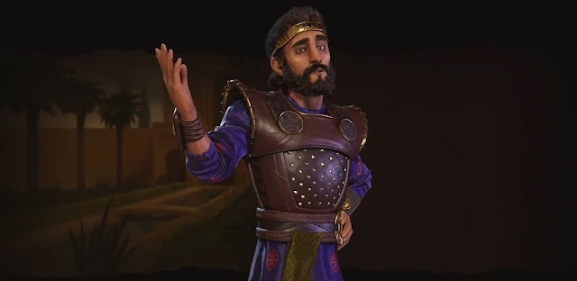 Cyrus the Great from Civilization VI