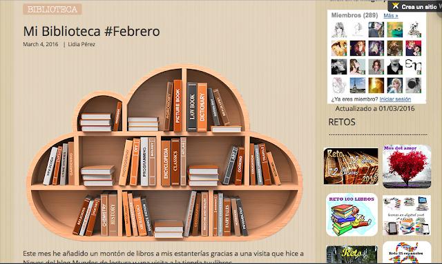 http://yerathel41.wix.com/agarratevienenlibros#!Mi-Biblioteca-Febrero/ulspz/56b4faa90cf2062bd4191b0f