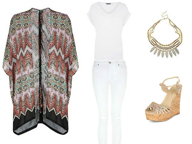 New Look - Styling - Fashion - Kimono - Sandals - Wishlist 2015 - Spring - Summer - How to - Outfits - Style - how to style - 2015