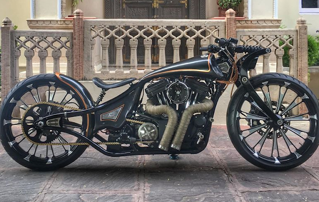 Rajputana Customs Motorcycles Jordaar