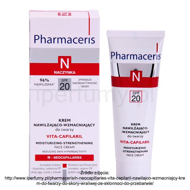 Szybka analiza składu: Pharmaceris N Vita Capilaril SPF 20 + wyniki zabawy z Face&Look oraz Floslek!