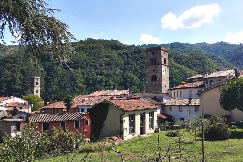Miasteczko Borgo a Mozzano
