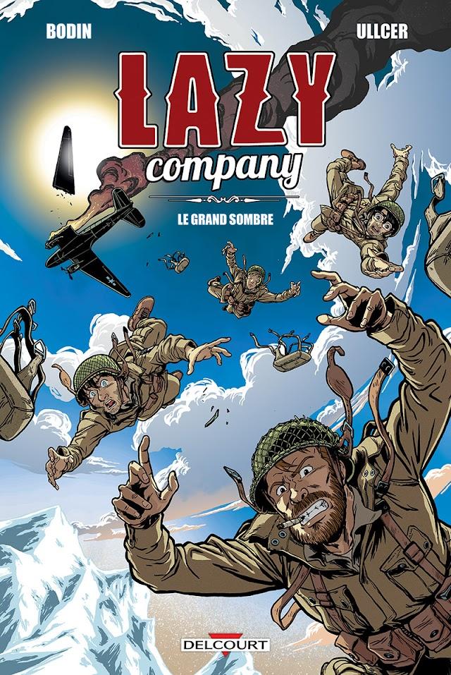 Lazy Company - T1 Le grand Sombre, ou 4 GI's perdus a Népal !