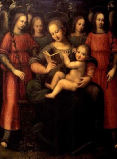plautilla nelli madonna con bambino