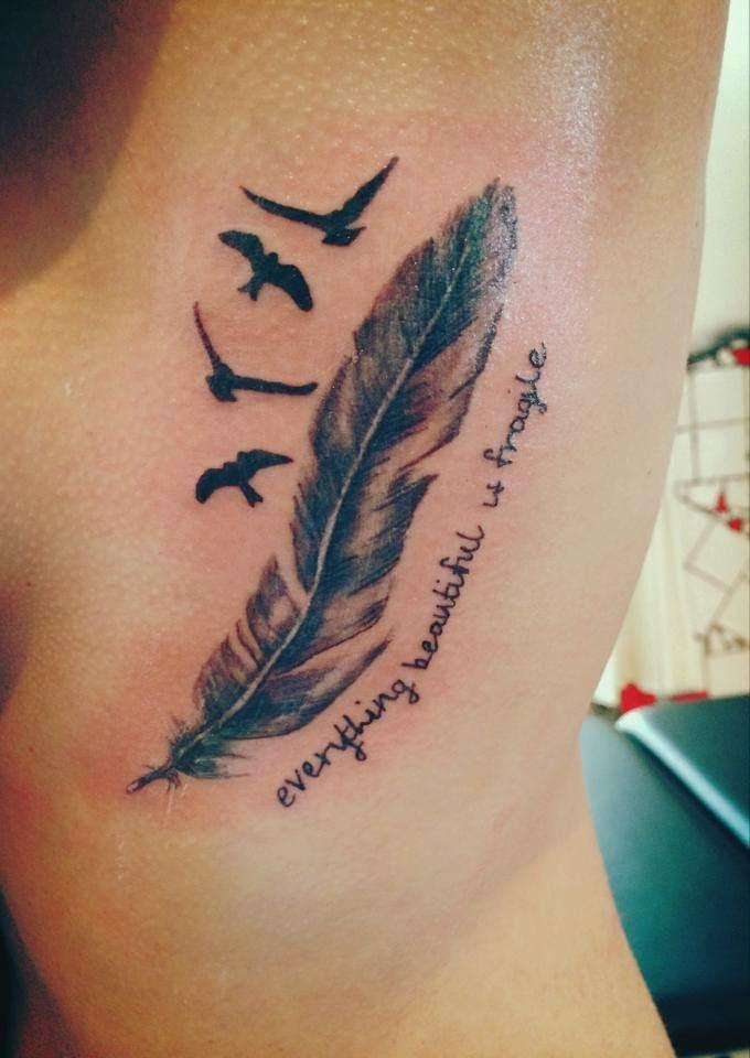 Diana Haarlem Tattoo Art Tattoo Op De Ribben