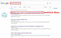 how to check internet speed on laptop online