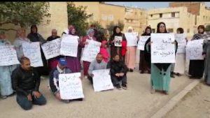 أسر شهداء الجيش المغربي بمدينة تازة تعري ادعاءات الجهات الوصية