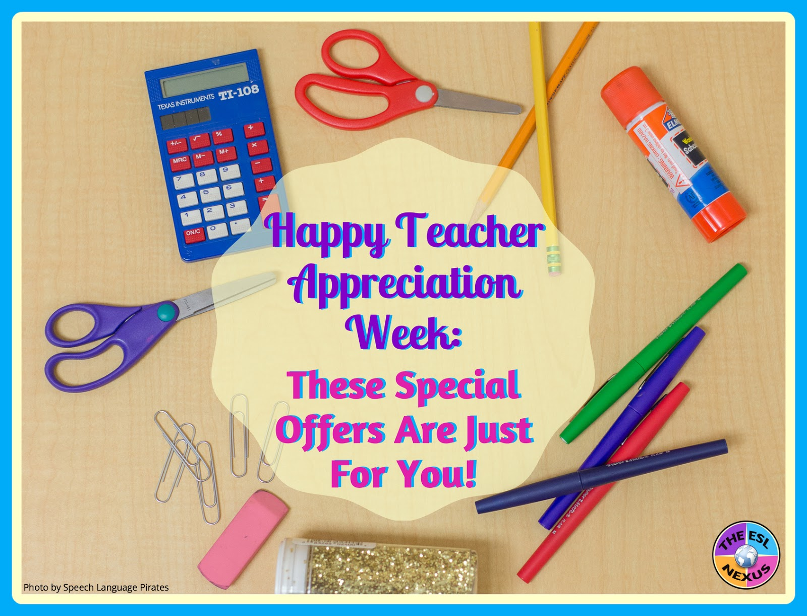 Educators enjoy some free offers by various companies and organizations during Teacher Appreciation Week 2017!