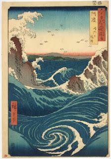 Japanese Art- Ichiryusai Hiroshige. 1855