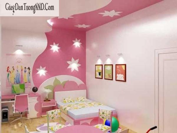Tư vấn chọn giấy dán tường Italia cho phòng của bé